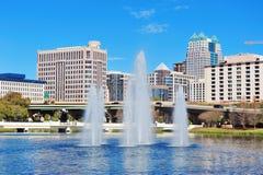 Het Meer Luzerne van Orlando stock fotografie