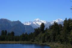 Het meer Matheson/zet Cook op Stock Afbeeldingen