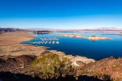 Het Meer Mead National Recreation Area royalty-vrije stock fotografie