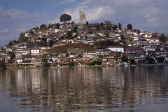 Het Meer Mexico van Patzcuaro van het Eiland van Janitzio Royalty-vrije Stock Fotografie