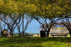 Het Meer Michigan van Chicago Royalty-vrije Stock Afbeeldingen