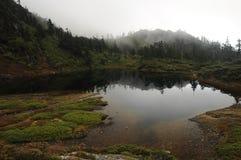 Het meer in mounatins Royalty-vrije Stock Afbeeldingen