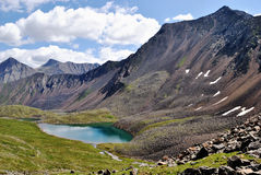 Het Meer nogon-Nur van de berg. Royalty-vrije Stock Afbeelding