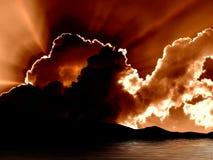 Het Meer Tahoe van de zonsopgang stock foto's