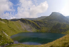 Het meer van Ðountain Stock Afbeelding