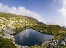 Het meer van Ðountain Stock Foto