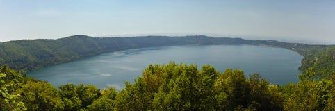 Het meer van Albano royalty-vrije stock afbeeldingen