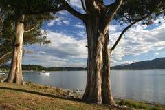 Het meer van Anau van Te royalty-vrije stock foto