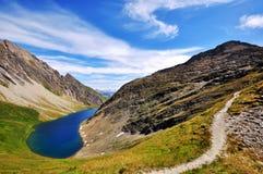 Het meer van Arpy Stock Foto