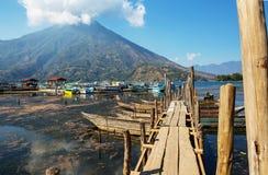 Het Meer van Atitlan Stock Afbeelding