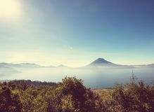 Het Meer van Atitlan Royalty-vrije Stock Afbeeldingen