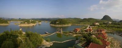 Het Meer van Baihua Royalty-vrije Stock Foto's