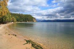 Het meer van Baikal royalty-vrije stock foto