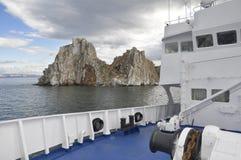 Het meer van Baikal Stock Foto