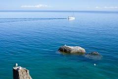 Het meer van Baikal stock afbeelding