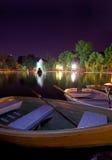 Het meer van Boekarest - Cismigiu- royalty-vrije stock foto