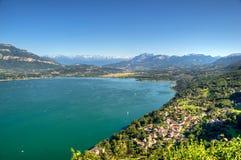 Het meer van Bourget Stock Foto's