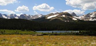 Het meer van Brainard - Colorado Stock Foto