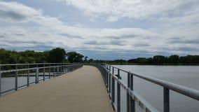 Het Meer van brug @ Grays Stock Foto