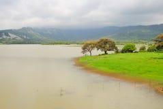 Het meer van Cadiz Stock Foto