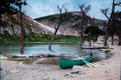 Het meer van Colorado Rocky Mountain royalty-vrije stock foto's