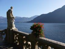 Het Meer van Como - Villa Balbianello Stock Afbeeldingen