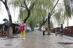 Het meer van DA Ming Royalty-vrije Stock Afbeeldingen