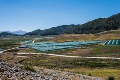 Het Meer van de Aooslentes in Metsovo in Epirus bergen van Pindus in noordelijk Griekenland royalty-vrije stock afbeelding