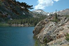 Het meer van de berg stock foto's