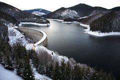 Het meer van de berg Stock Foto