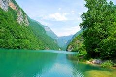 Het meer van de berg. Stock Fotografie