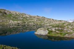 Het Meer van de berg van Chamonix Stock Foto's