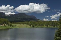Het Meer van de Berg van Colorado stock fotografie