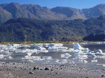 Het meer van de gletsjer Stock Afbeeldingen
