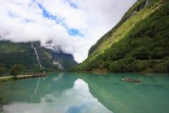 Het meer van de gletsjer Stock Foto's