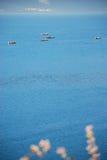 Het meer van de herfst Royalty-vrije Stock Foto's