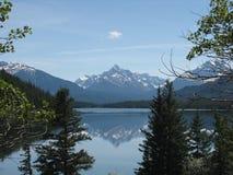 Het meer van de hoorn Stock Afbeelding
