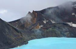 Het meer van de krater Stock Fotografie