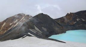 Het meer van de krater Royalty-vrije Stock Foto's