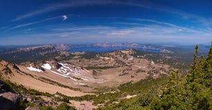 Het Meer van de krater royalty-vrije stock foto
