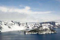 Het Meer van de krater Royalty-vrije Stock Fotografie