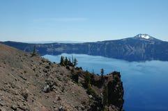 Het Meer van de krater, Oregon Royalty-vrije Stock Foto