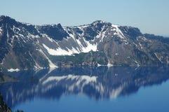 Het Meer van de krater, Oregon Stock Fotografie
