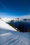 Het Meer van de krater, Oregon Stock Foto's