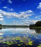 Het meer van de middag Royalty-vrije Stock Foto