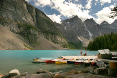 Het meer van de morene Royalty-vrije Stock Foto