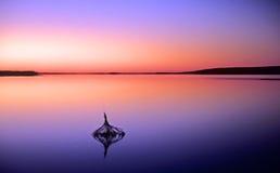 Het meer van de mysticus Royalty-vrije Stock Foto's