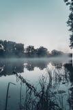 Het meer van de ochtend Royalty-vrije Stock Afbeelding