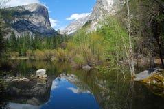 Het Meer van de Spiegel van Yosemite Royalty-vrije Stock Fotografie