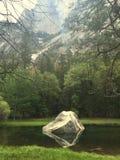 Het Meer van de Yosemitespiegel Stock Foto